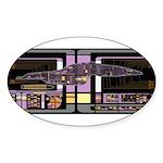 Intrepid Class MSD Sticker (Oval 50 pk)
