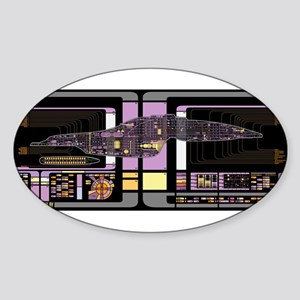 Intrepid Class MSD Sticker (Oval)