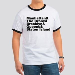 Five Boroughs New York City Ringer T