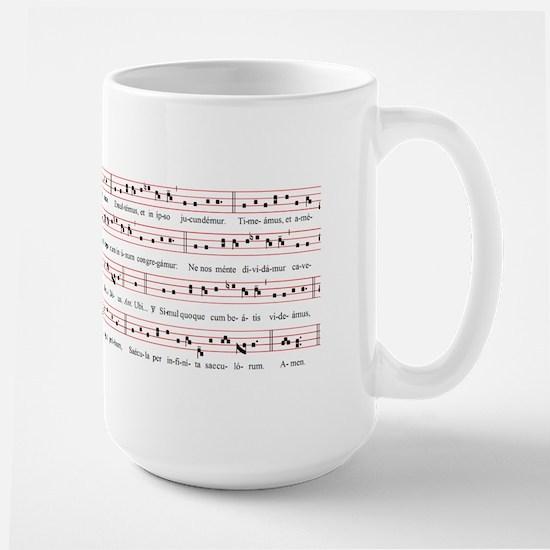 Ubi Caritas Large Mug