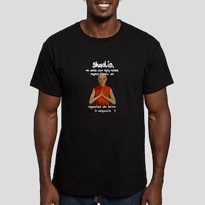 Compassionate Vegetarians Men's Fitted T-Shirt (da