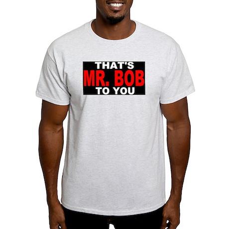 Mr. Bob Blk T-Shirt