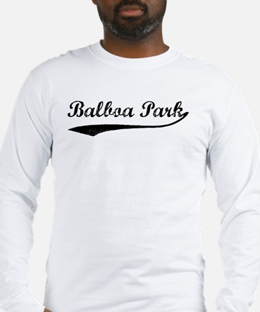 Balboa Park - Vintage Long Sleeve T-Shirt