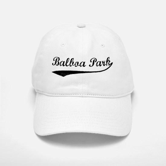 Balboa Park - Vintage Baseball Baseball Cap