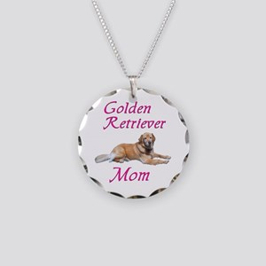 GoldenMom Necklace Circle Charm
