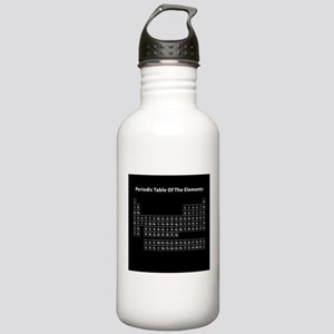 Black Periodic Table Stainless Water Bottle 1.0L