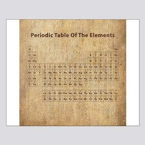 Periodic table posters cafepress vintage periodic table small poster urtaz Image collections