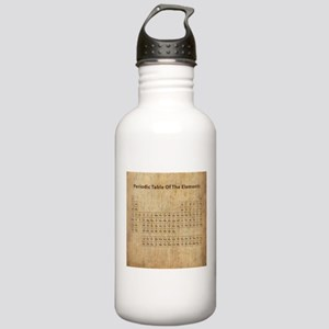 Vintage Periodic Table Stainless Water Bottle 1.0L