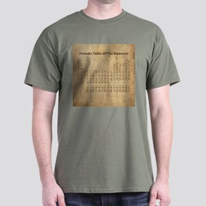 Vintage Periodic Table Dark T-Shirt