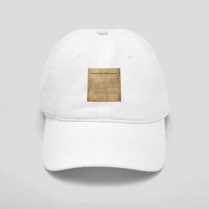 Vintage Periodic Table Cap