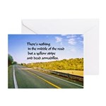 advice8x6 Greeting Cards (Pk of 20)