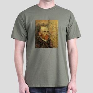 Van Gogh Self Portrait Dark T-Shirt