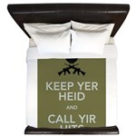 Keep yer heid and call yir hits King Duvet