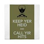 Keep yer heid and call yir hits Queen Duvet