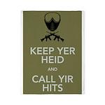 Keep yer heid and call yir hits Twin Duvet