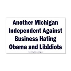 Michigan Independent Wall Decal