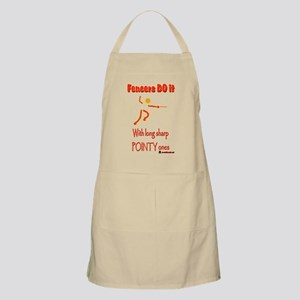 Fencers sharp pointy 6000 Apron