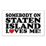 Staten Island Sticker (Rectangle)