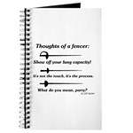Fencer Thoughts Journal