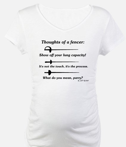 Fencer Thoughts Shirt