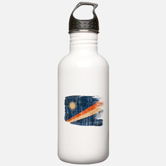 Marshall Islands Flag Water Bottle