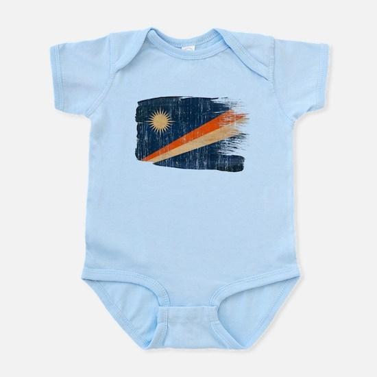 Marshall Islands Flag Infant Bodysuit