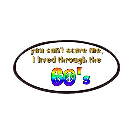 you can't scare me..60's Patches