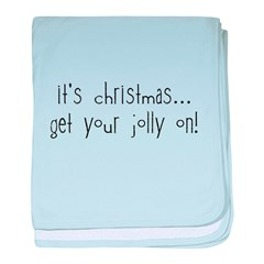 jolly on! baby blanket