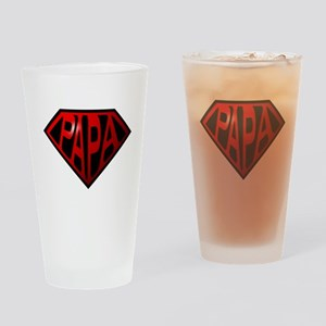 papa Drinking Glass