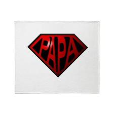 papa Throw Blanket