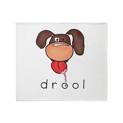 drool Throw Blanket