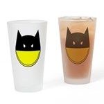 Bat Smiley Drinking Glass