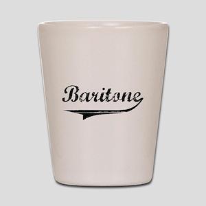baritone-blk Shot Glass