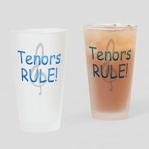 tenors rule- Drinking Glass