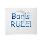 3-baris rule Throw Blanket
