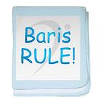 3-baris rule baby blanket
