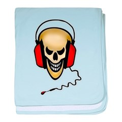 devils music-2glow baby blanket