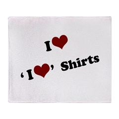 i heart heart.png Throw Blanket