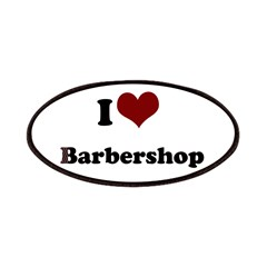iheart barbershop Patches