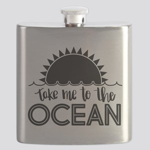 Take Me To The Ocean Flask