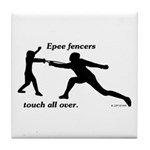 Epee Touch Tile Coaster