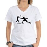 Epee Touch Women's V-Neck T-Shirt