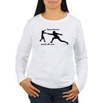 Epee Touch Women's Long Sleeve T-Shirt