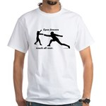 Epee Touch White T-Shirt