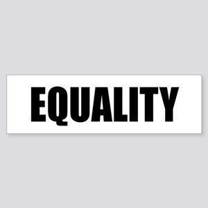 EQUALITY Sticker (Bumper)