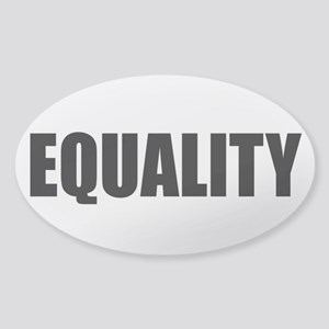 EQUALITY Sticker (Oval)
