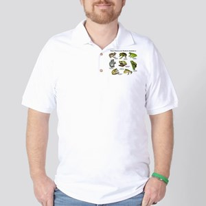 Tree Frogs of North America Golf Shirt