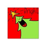 XMAS bright Square Sticker 3