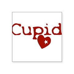 cupid Square Sticker 3