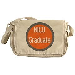 NICU grad Messenger Bag